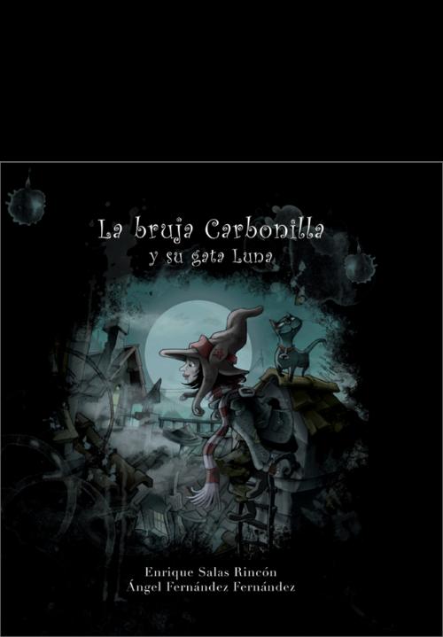 La bruja Carbonilla y su gata Luna