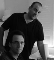 José Antonio y Javier Bizarro